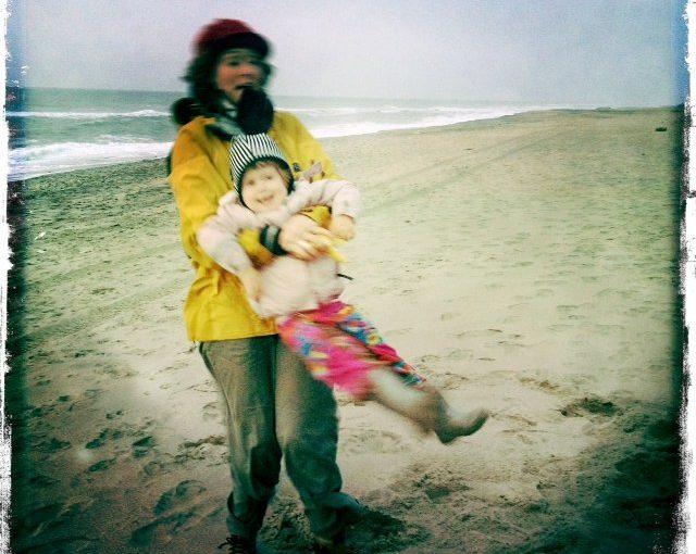 Dead duck and beach hugs