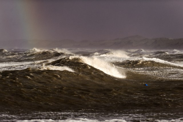 3rd storm from the left. The beaches of the danish west coast are geographically starting to change after all this wind!