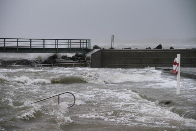 Stormy weather at Nr. Vorupør